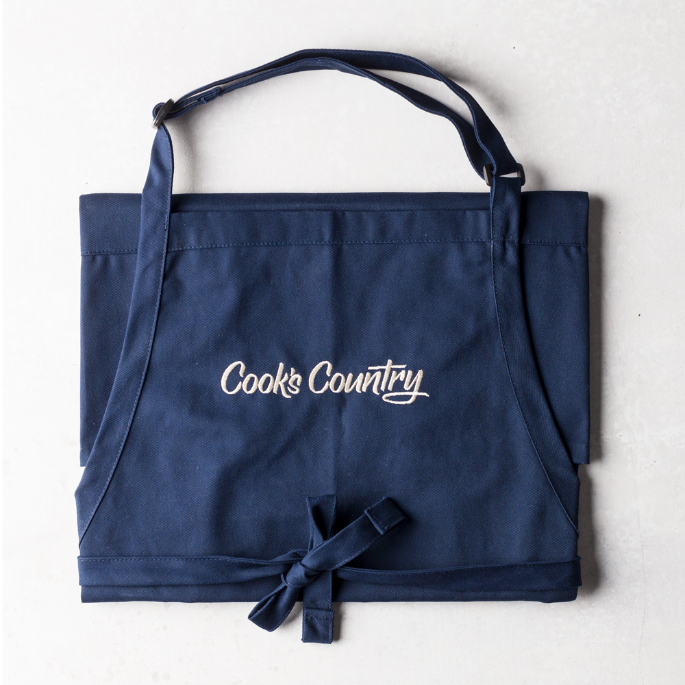 Cook's Country Navy Apron