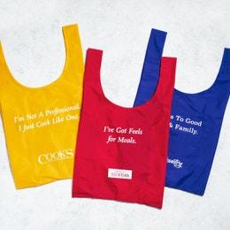 Baggu x ATK Reusable Bags, Set of 3