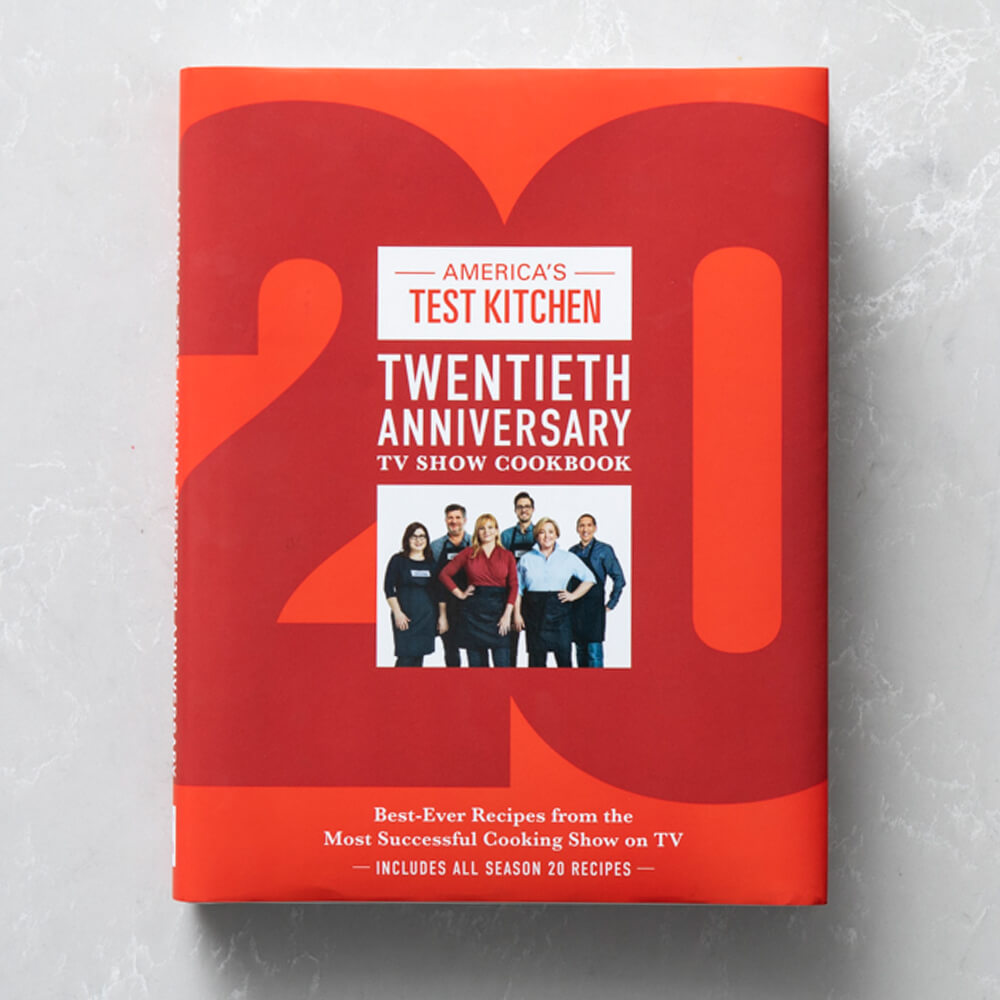 America's Test Kitchen 20th Anniversary TV Show Cookbook