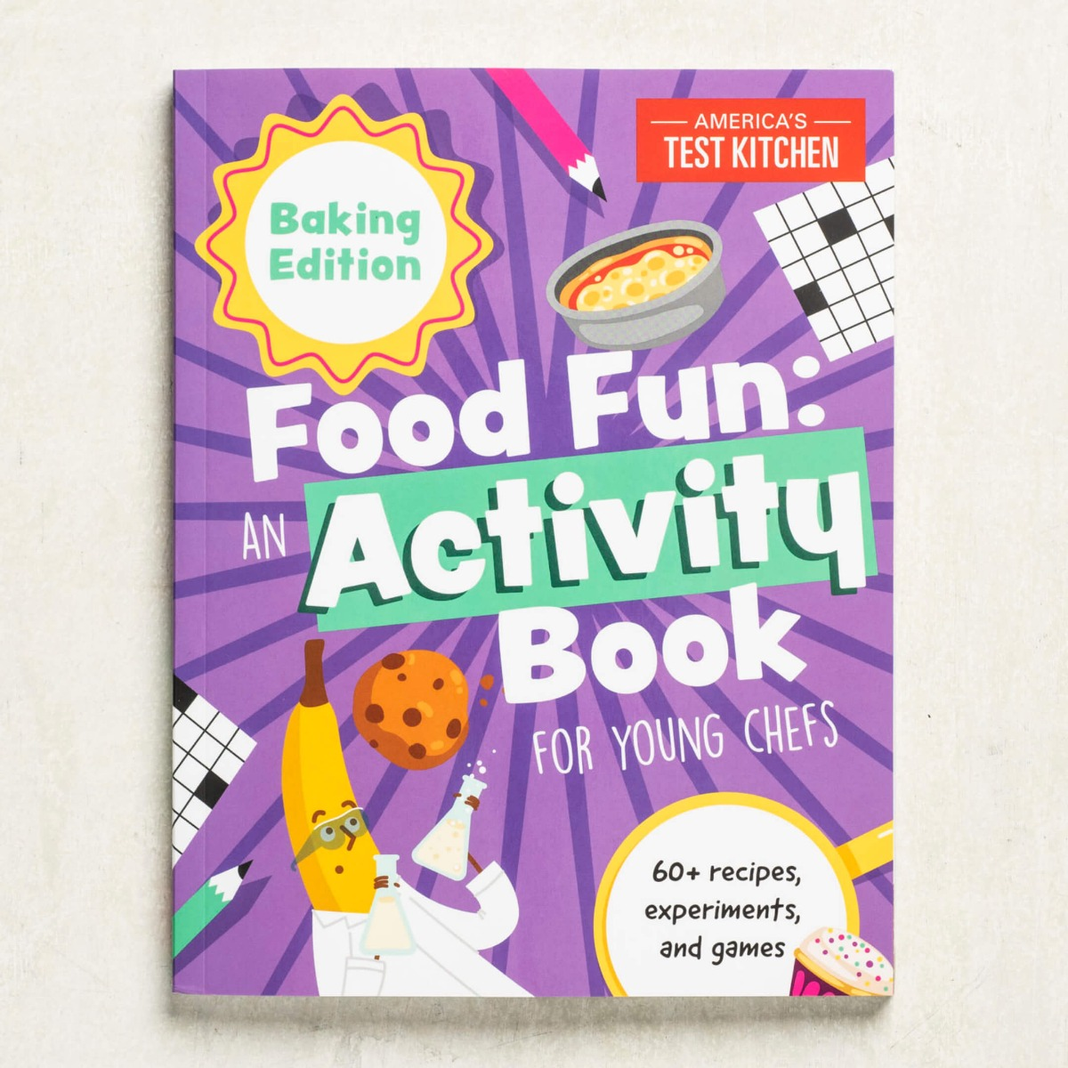 Food Fun: An Activity Book for Young Chefs