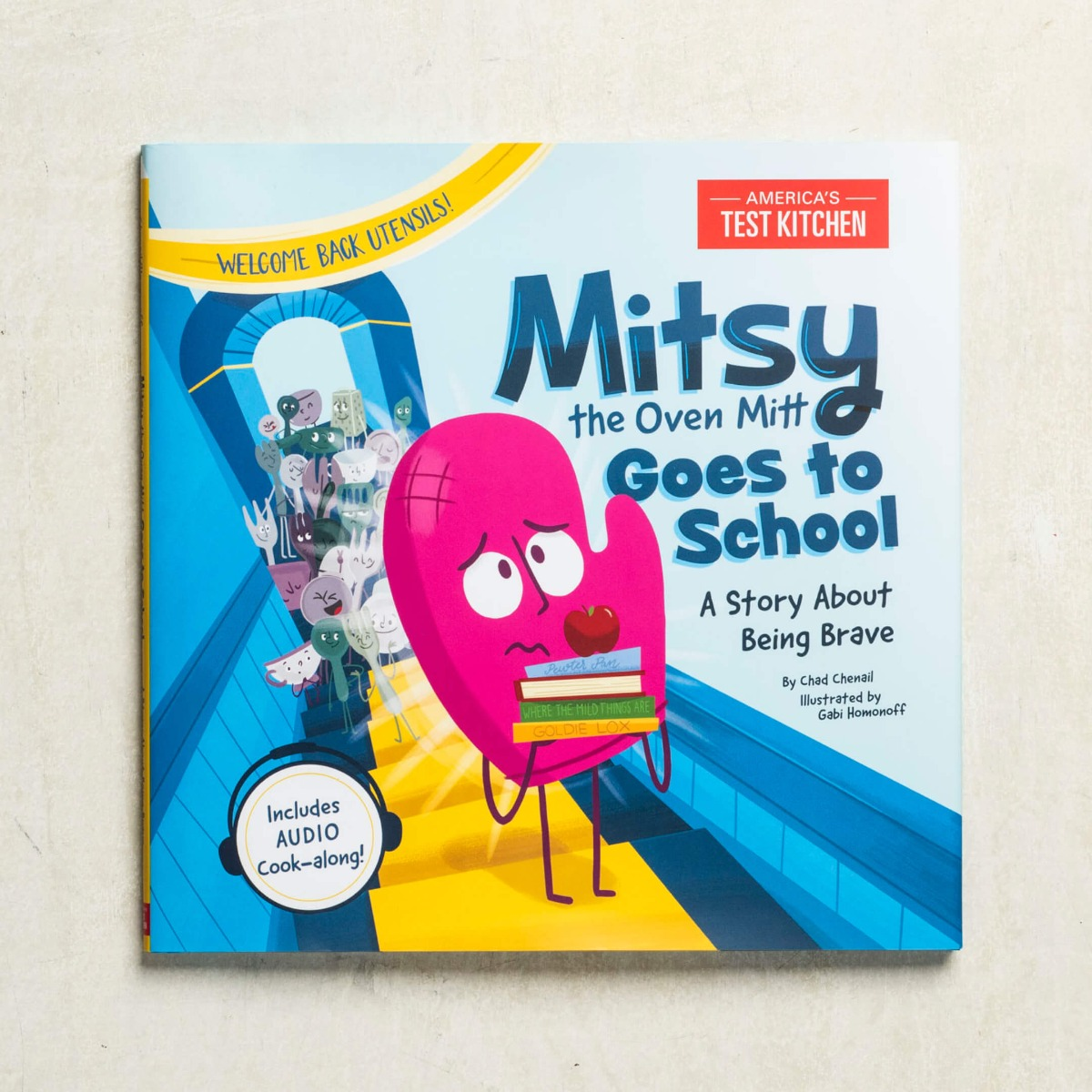 Mitsy the Oven Mitt Goes to School