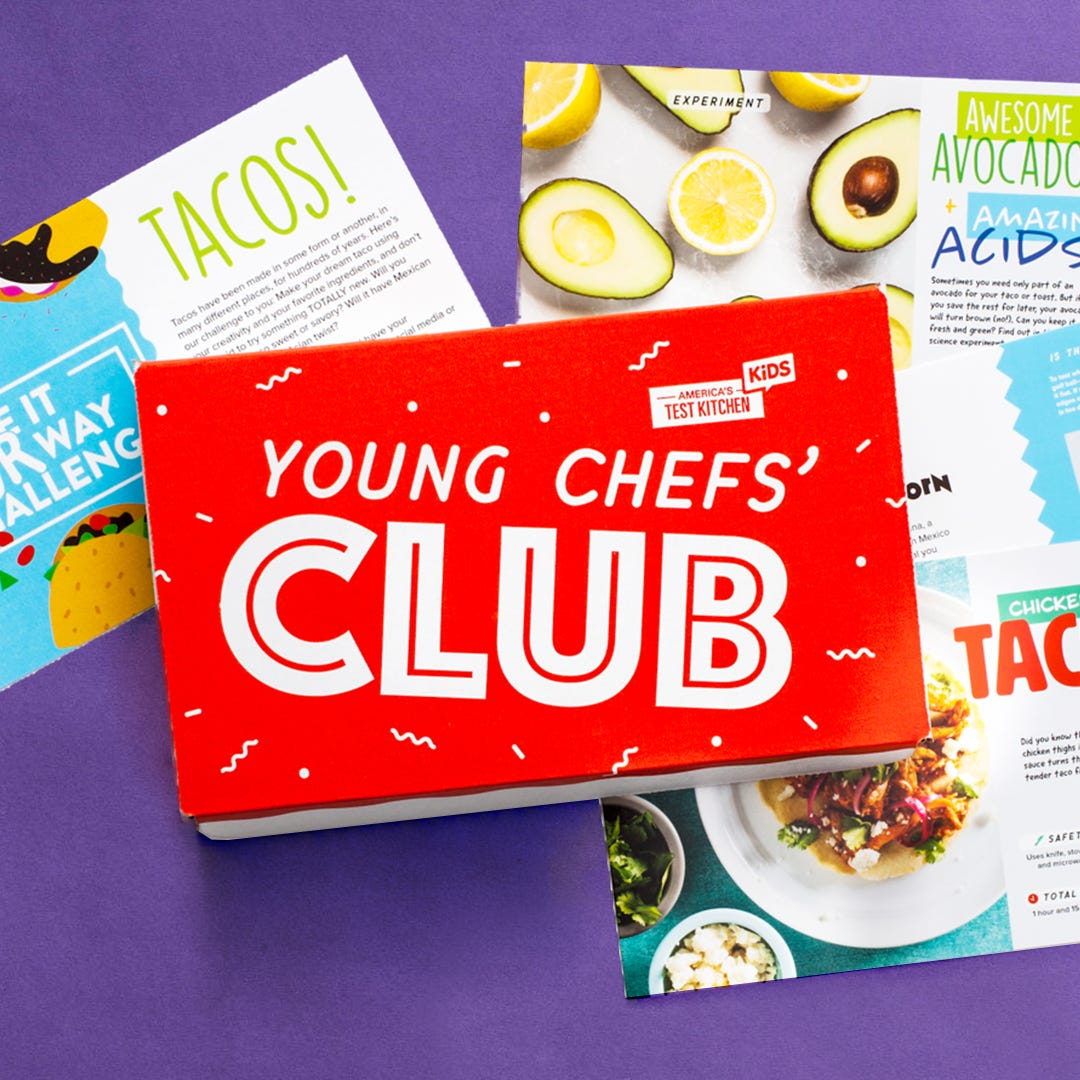 Young Chefs' Club Monthly Boxes