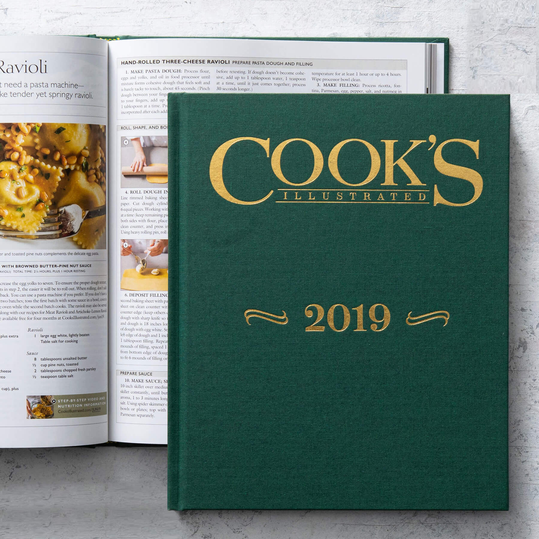 Cook's Illustrated 2019 Annual