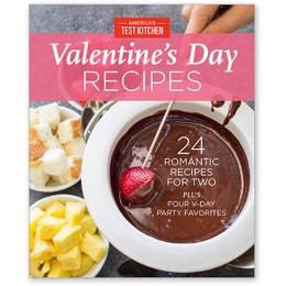 America's Test Kitchen Valentine's Day Recipes Digital Issue