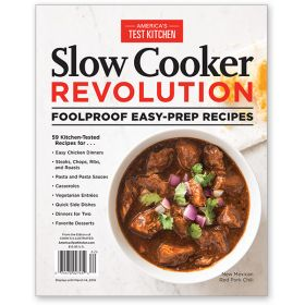 America's Test Kitchen Slow Cooker Revolution Foolproof Easy-Prep Recipes Bookazine