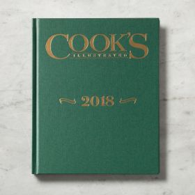 Cook's Illustrated 2018 Annual