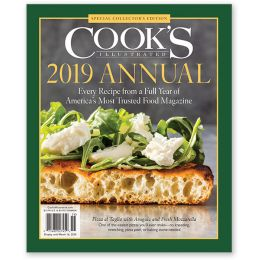 Cook's Illustrated 2019 Annual Special Issue