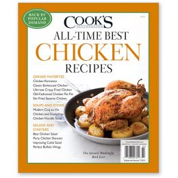 Cook's Illustrated The All-Time Best Chicken Recipes