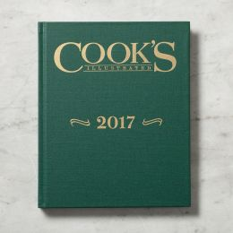 Cook's Illustrated 2017 Annual