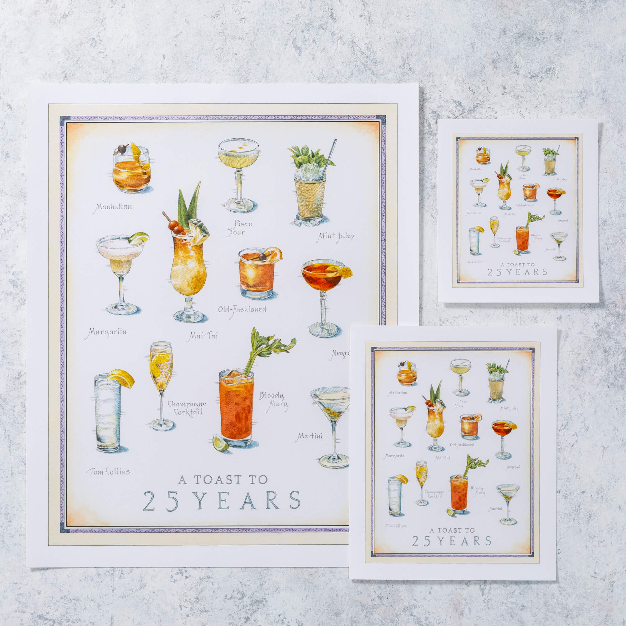 Cook's Illustrated Unframed Print: Cocktails