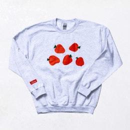 Farmer's Market Sweatshirt: Strawberries
