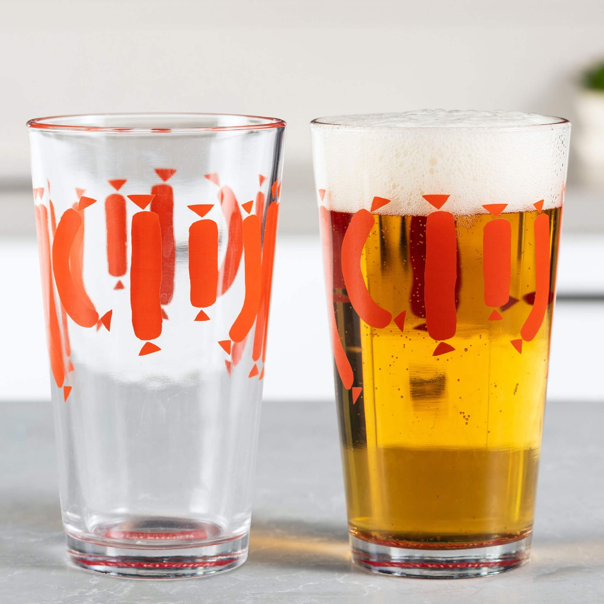 Pint Glass Set of 2