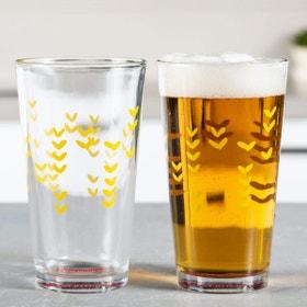 America's Test Kitchen Pint Glasses, Set of 2