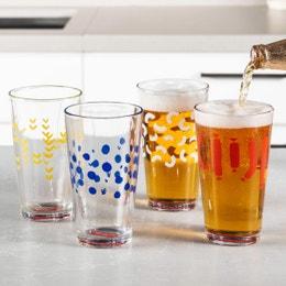 Pint Glass Set of 4