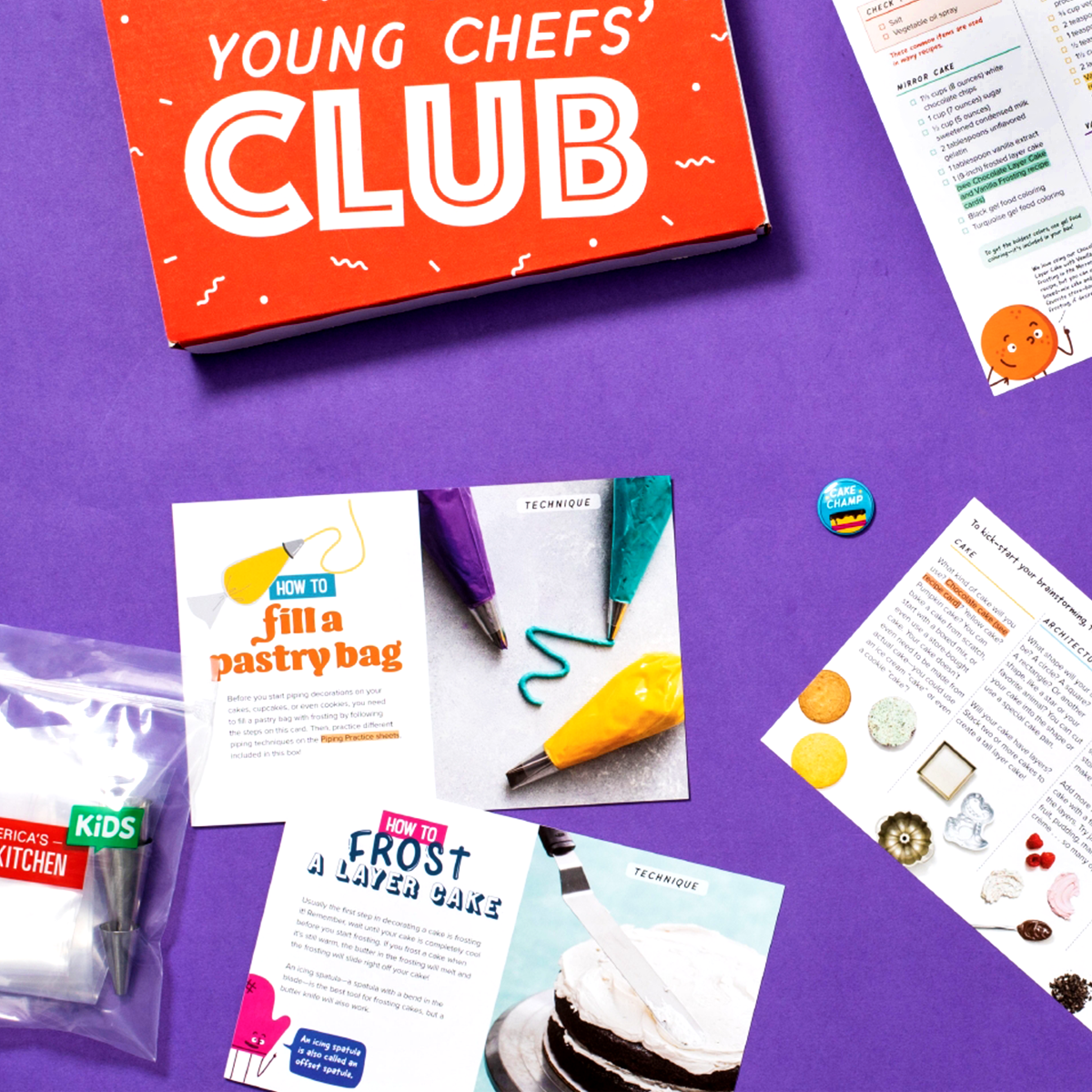 The Young Chefs' Club Cake Decorating Box