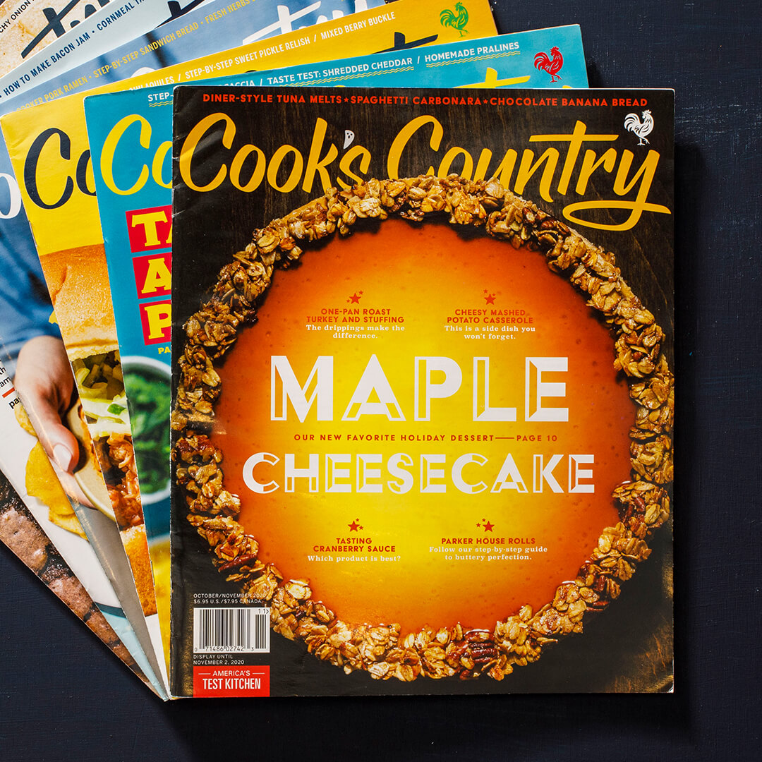 Cook's Country Magazine Subscription