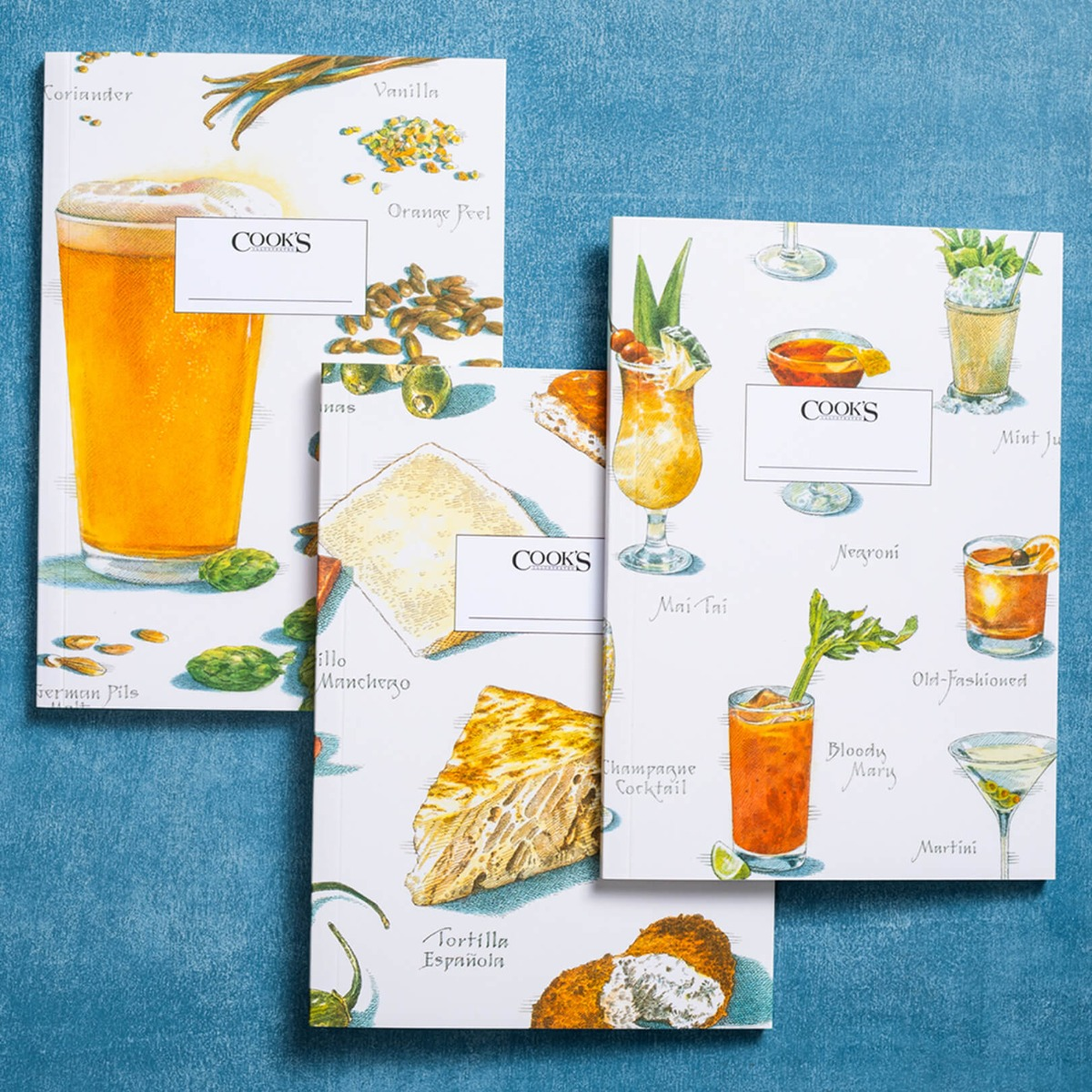 Happy Hour - Set of 3 Cook's Illustrated Journals