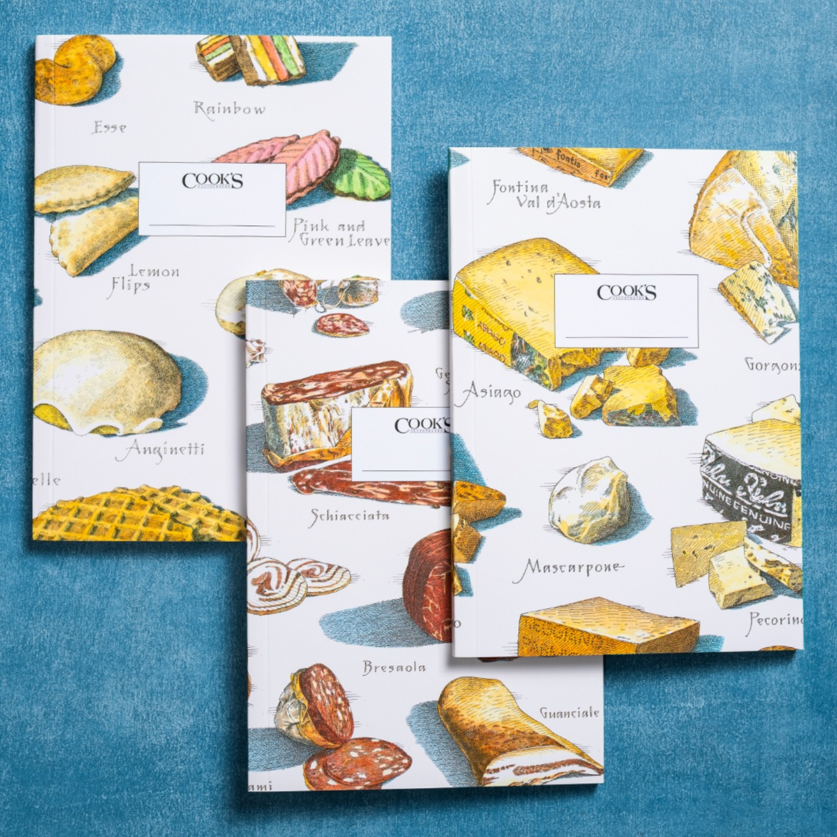 Taste of Italy - Set of 3 Cook's Illustrated Journals