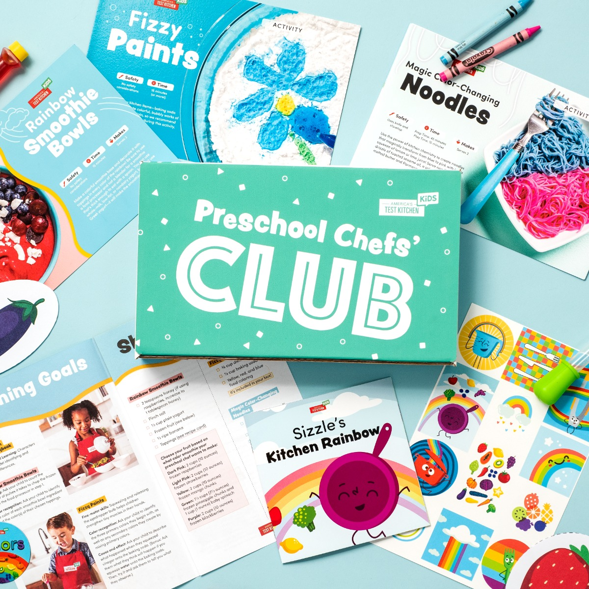 Preschool Chefs' Club Monthly Boxes