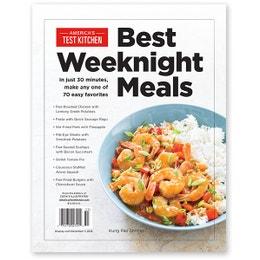 America's Test Kitchen Best Weeknight Meals 2015 Bookazine