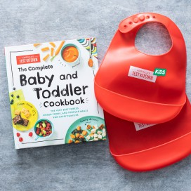 The Complete Baby And Toddler Cookbook And Bib Bundle