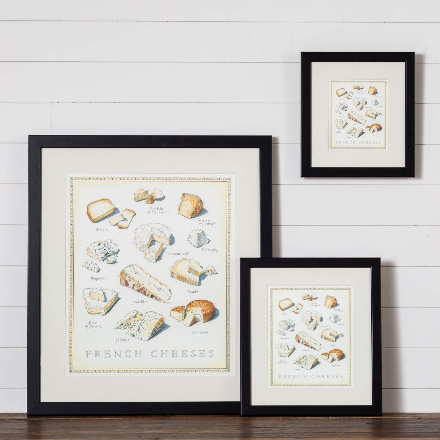 Cook's Illustrated Framed Print: French Cheeses